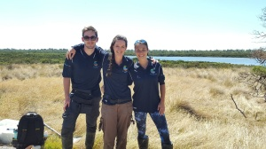 The February 2018 Phillip Island TeaComposition H2O team. Nicolas (intern from France) and Giuditta (PhD student from Italy) had been in Australia for less than two weeks when I exposed them to the joys of tea research.