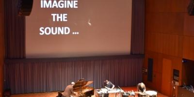 Live performances provide an artistic break from scientific presentations.