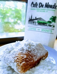 Conference fuel- beignets (sugar to scale)