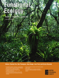 Cover for issue 32x10 of Functional_Ecology