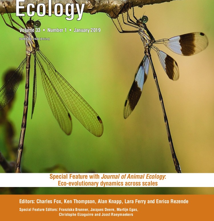 Functional Ecology 33x01 cover