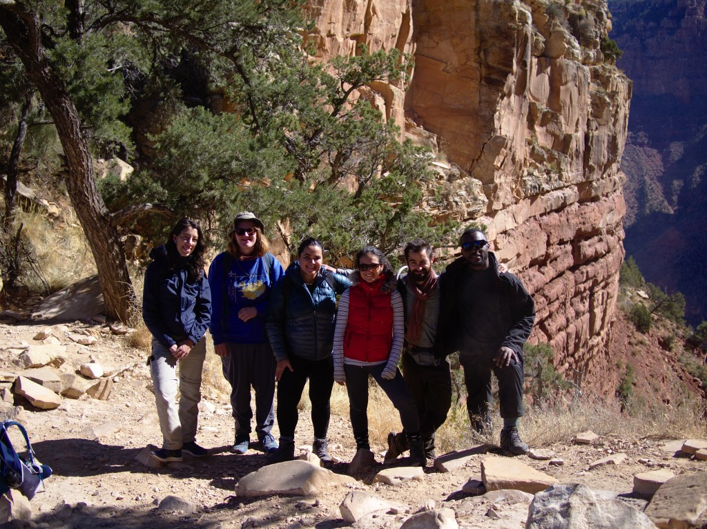 Hiking in Grand Canyon with the Macrosystem Ecology Laboratory