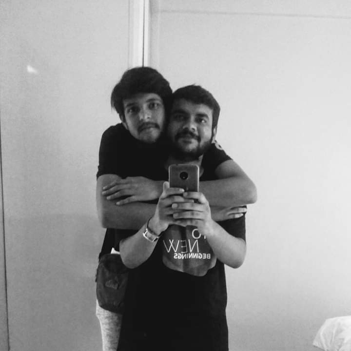 Me and my partner Swakshadip.