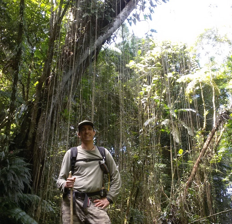 Nacho Villar in the Brazilian Atlantic Forest