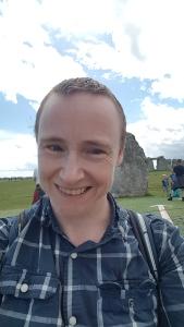 On a 25-mile trek to Stonehenge, August 2020