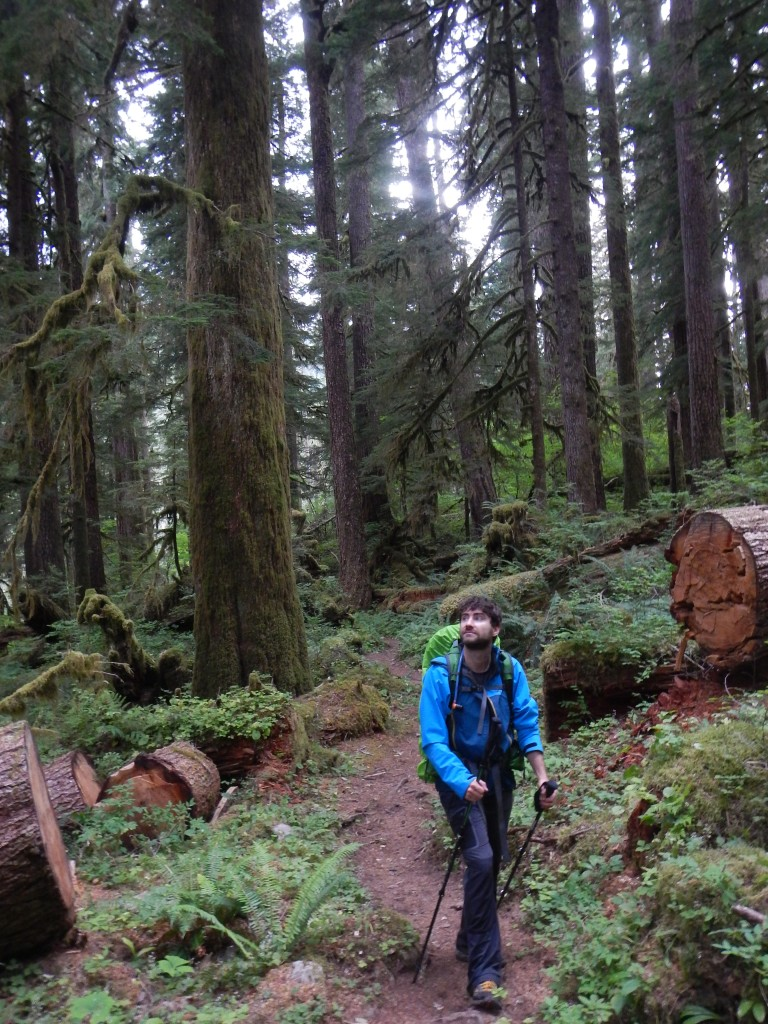 Xavier Morin on Vancouver Island